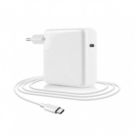 Chargeur MACBOOK 30W Type-C BLANC