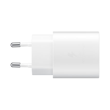 Chargeur ultra rapide 25W Blanc