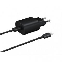 Chargeur Samsung ultra rapide 25W (avec câble) Noir