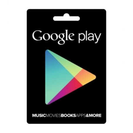 e-carte Google Play 100 USD