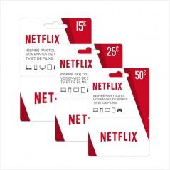 Carte Cadeau Netflix 25€