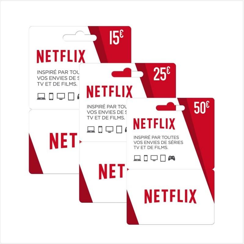 Carte Cadeau Netflix 50€