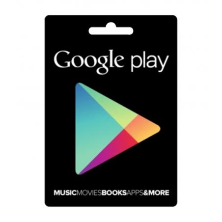 e-carte Google Play 15USD