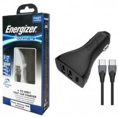 Chargeurs De Voiture Rapide 18W  3 USB  Energizer