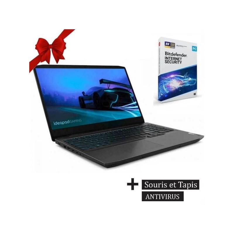 PC Portable LENOVO Gaming 3 i5 10è Gén 8Go 1To + 128Go SSD