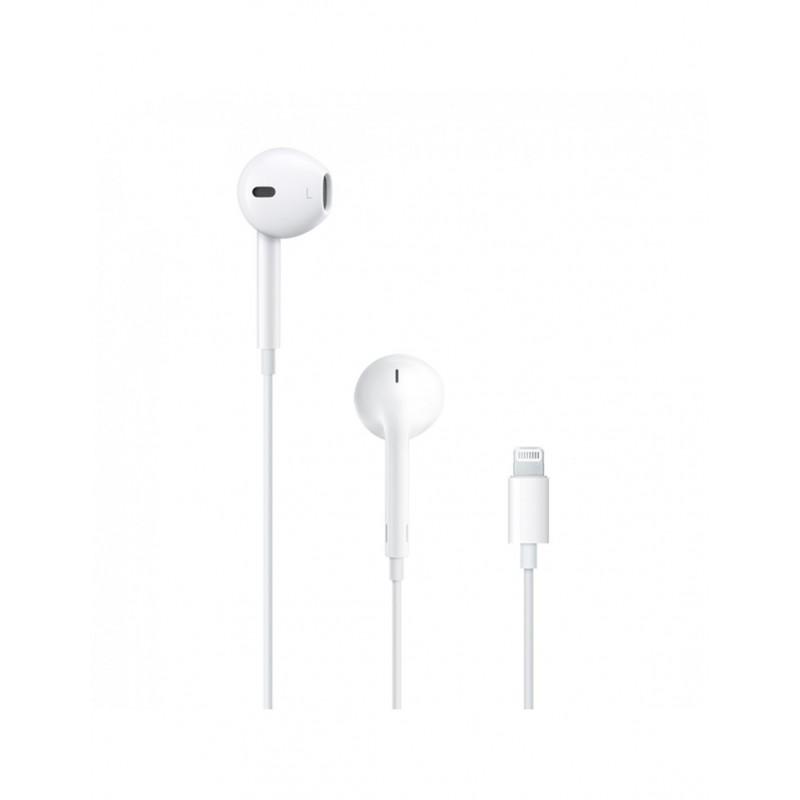 Ecouteurs Apple EarPods avec connecteur Lightning blanc