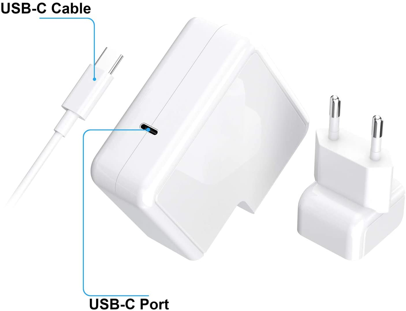 chargeur macbook 87W  clicksolution.tn